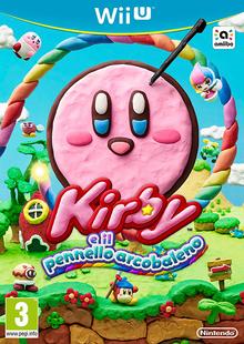 Kirby e il Pennello Arcobaleno - Boxart ITA