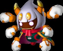 Taranza Artwork - Kirby Triple Deluxe