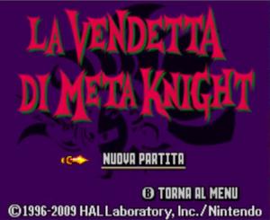 La Vendetta di Meta Knight