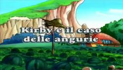 Kirby e il caso delle angurie