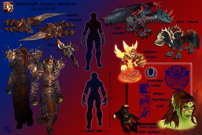 Zalnova - Character Sheet