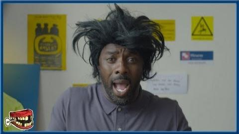 Idris Elba as Hyperactive Bad Teeth