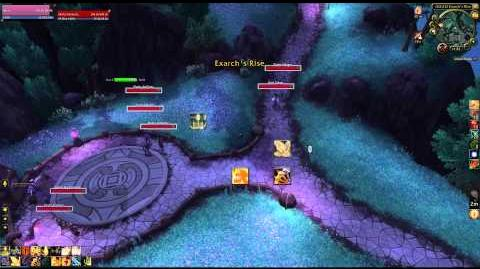 How to get to Strange Spore Treasure (WOW Umbrafen Spore Pet)