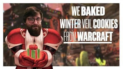 We baked Winter Veil Cookies from World of Warcraft Test