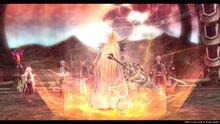 Arianrhod preparing for battle (Sen IV)