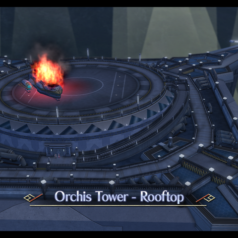 Rooftop of Orchis Tower