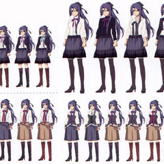 Casual outfit variations