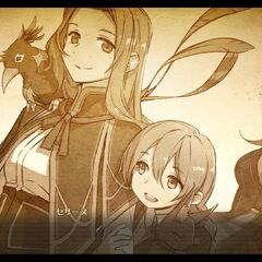 Memories - Young Emma with Vita and Grianos and Roselia watching them