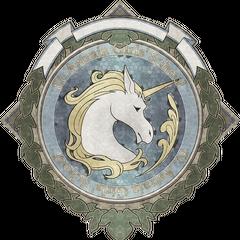 Emblem of the school <i><a href=