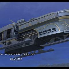 Aurelia's Airship in <i><a href=