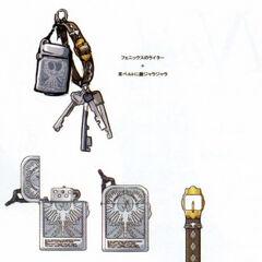 Concept art for Randy's Enigma strap.