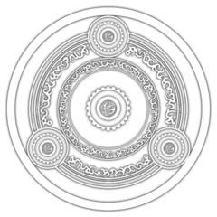 Texture file of a magic circle seen in the Castle