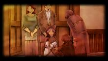 Harold and Sophie Hayworth entrusting Renne to friend (Zero)