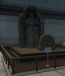 Stone Quarry Statue - Imperial Museum (Sen III)