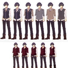 Casual Clothes variations