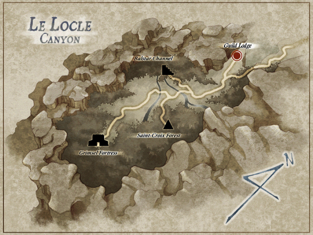 Map of Le Locle (SC)