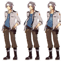 Concept art - uniform variations