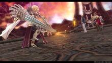 Arianrhod's lance breaks (Sen IV)