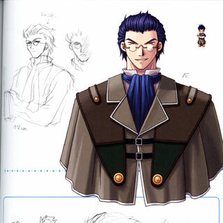 Concept art of Professor Alba.