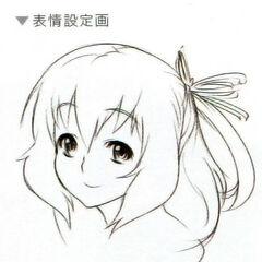 A portrait sketch of Rixia