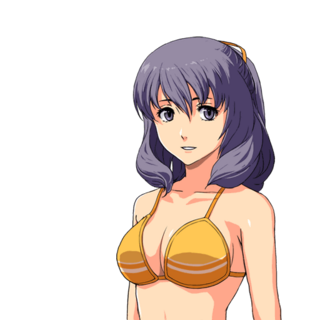 Rixia's swimsuit bust shot in <i><a href=