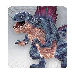 Scary Dinosaur (Sen Monster)