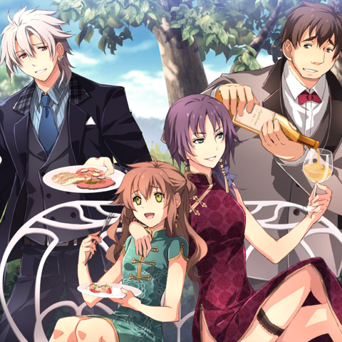 Crow, Towa, Angelica & George at the Imperial Wedding