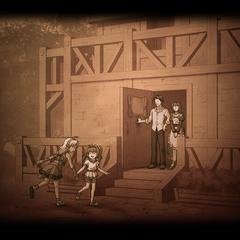 Scherazard at the Bright Family House (Evolution).