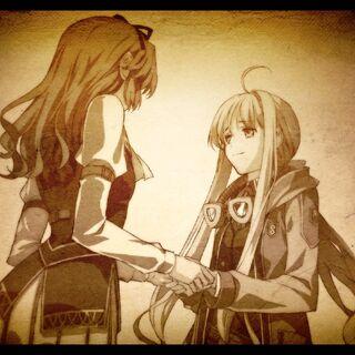Memories - Renne and Tita before Tita leaving for Erebonia