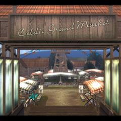Grand Market, entrance