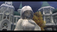 Bareahard - Statue of St. Veronica with tears (sen2)