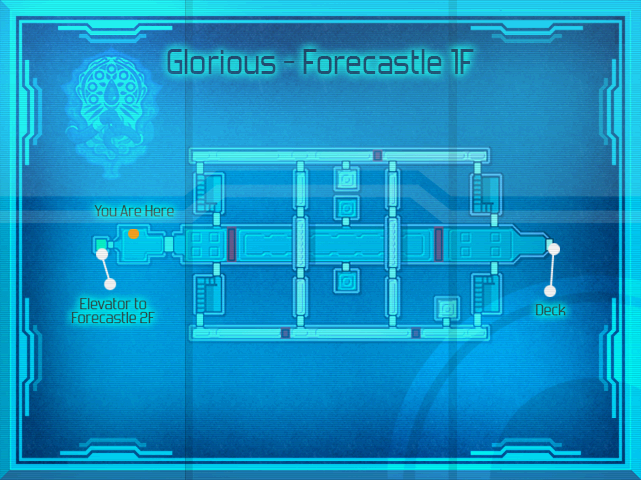 Glorious - Map Forecastle 1F (SC)