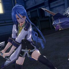 A screenshot featuring Laura fighting against <a href=