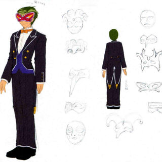 Concept art for the masked ball