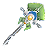 Orbal Staff Elliot (Sen III Weapon)
