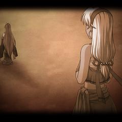 Luciola Disappearing from Scherazard (Evolution).