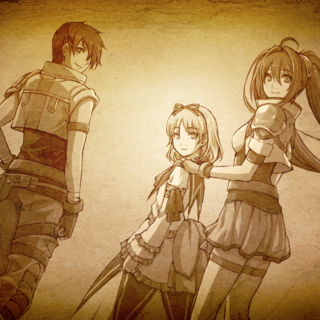 Memories - Renne returning to Liberl with Estelle and Joshua