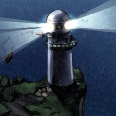 Concept art of the lighthouse.