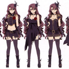 Stage outfit variations