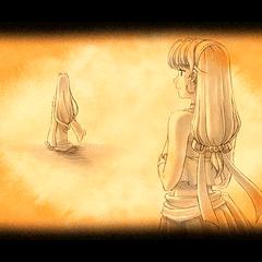 Luciola Disappearing from Scherazard.