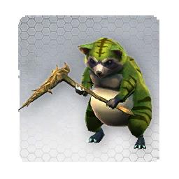 Green Raccoon (Sen Monster)