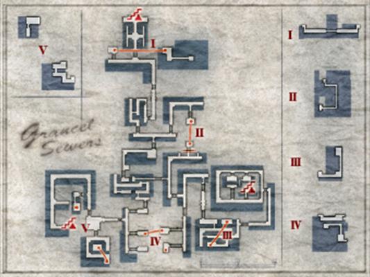 Map of Grancel Sewers (FC)