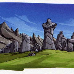 Stone circle, early concept art