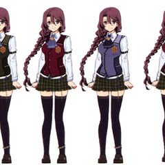 School outfit variations