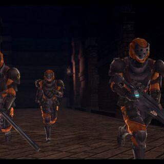 In-game screenshot of Hercules agents