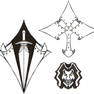 Unused concept art for a Ironblood crest (<i><a href=