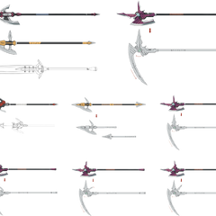 Weapon variations