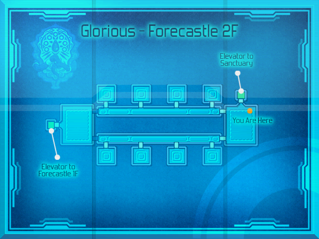 Glorious - Map Forecastle 2F (SC)