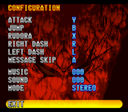 Battle Raiden Config Menu