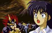 Chibi Zenki Chiaki intro Battle Raiden 2